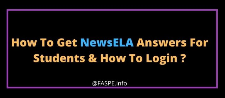 How To Get NewsELA Answers For Students & How To Login