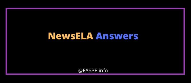 Newsela answers key