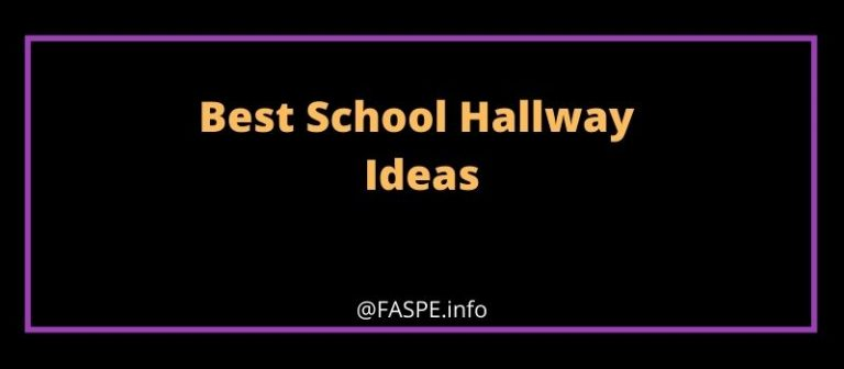 School Hallway Ideas